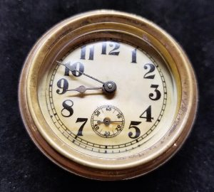 Repaired Antique Dashboard Clock